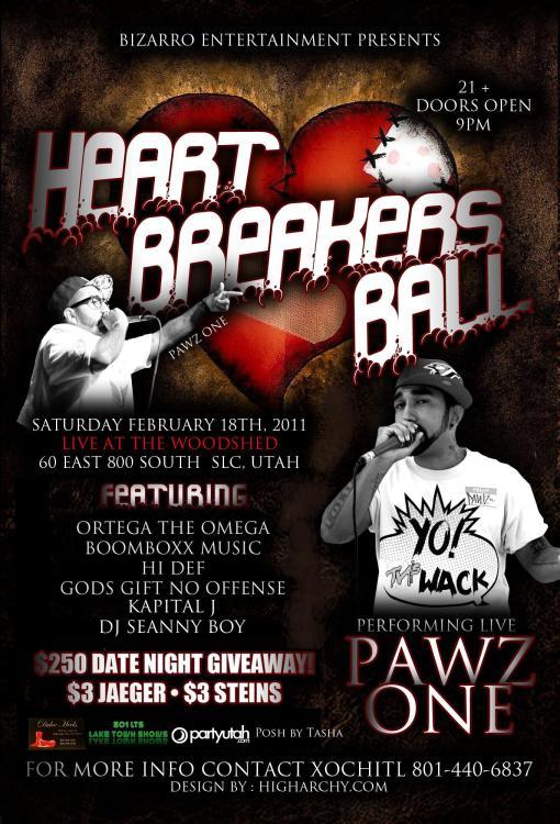 Heart Breakers Hip Hop Ball 2012
