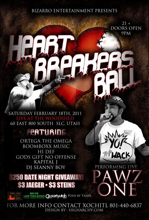 Heart Breakers Hip Hop Ball 2012