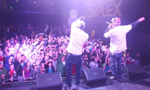 Opening up for Hieroglyphics in SLC, UT